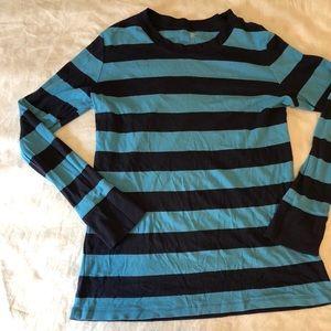 Gap stripe shirt size XL